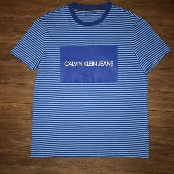 Calvin Klein Jeans Other - Calvin Klein Jeans Striped Ringer T-Shirt